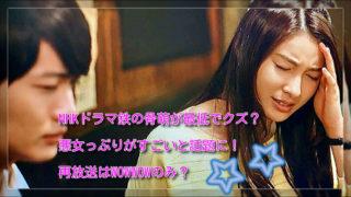 NHKドラマ鉄の骨萌が最低でクズ?悪女っぷりがすごいと話題に!再放送はWOWWOWのみ?